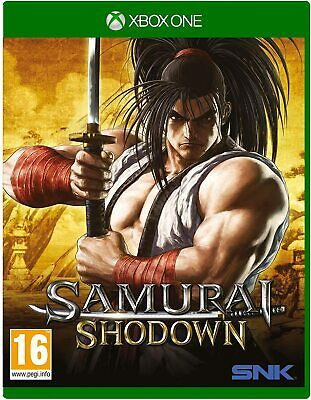 * XBOX ONE NEW Sealed Game * SAMURAI SHOWDOWN