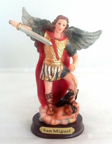 5 Inch Statue of Saint Archangel Michael San Arcangel St Estatua Angel Miguel