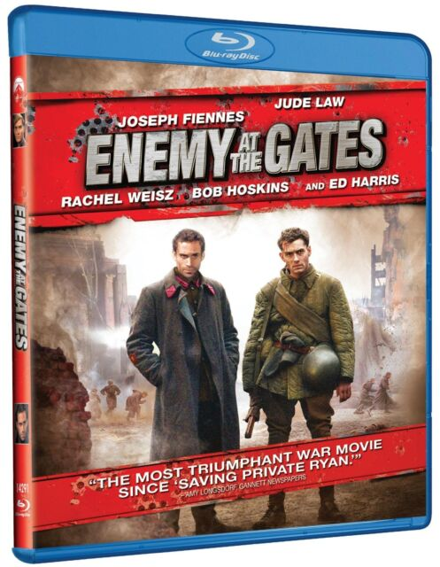 ENEMY AT THE GATES (Jude Law)   -  Blu Ray - Sealed Region free for UK