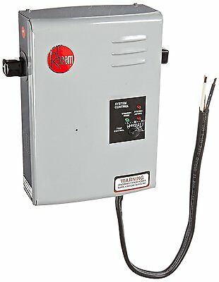Rheem Tankless Hot Water Heater Electric 4GPM Best Instant On Demand LED