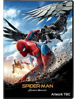 Spider Man  Homecoming  Dvd 2017  New Acti  Adventure  Pre Order 10 17