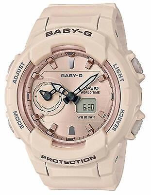 Casio BABY-G SHOCK BGA230SA-4A Beige Standard Analog-Digital Dual Time Watch