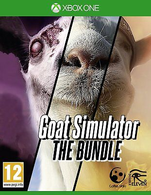 Goat Simulator  The Bundle  Microsoft Xbox One Animal   Goatz   Mmo Add Ons  New