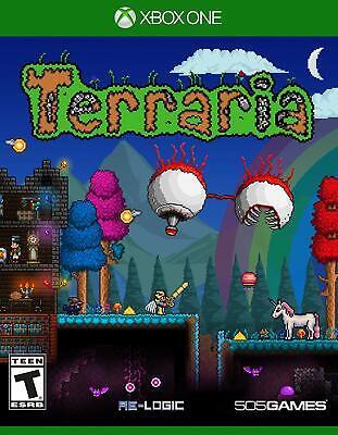 Terraria (Microsoft Xbox One, 2014) BRAND NEW