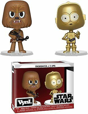Star Wars CHEWBACCA & C-3PO - Funko VYNL POP Figure Bobbleheads