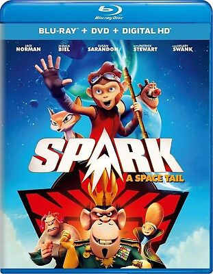 Spark  A Space Tail  Blu Ray  Dvd   Hd 07 11 2017