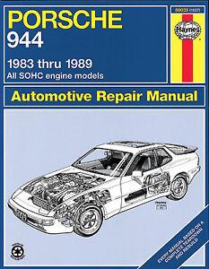 Repair-Manual-Haynes-80035-fits-83-89-Porsche-944