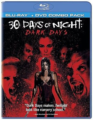 30 Days of Night: Dark Days (Blu-ray/DVD, 2010, 2-Disc