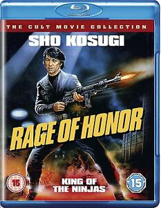 Rage of Honor   **Brand New Blu Ray**  Sho Kosugi