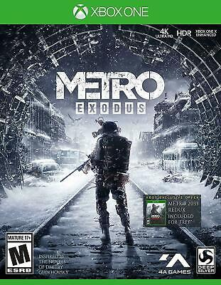 Metro Exodus Microsoft Xbox One Brand New Sealed