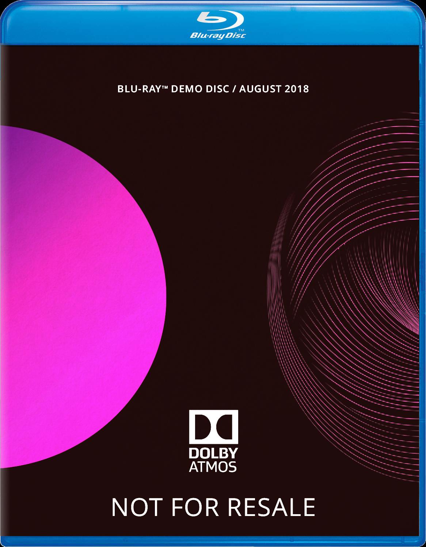 Dolby ATMOS Blu-Ray Demo Disc