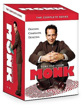 Изображение товара MONK the Complete DVD Series Collection seasons 1-8 (32 Disc Set)