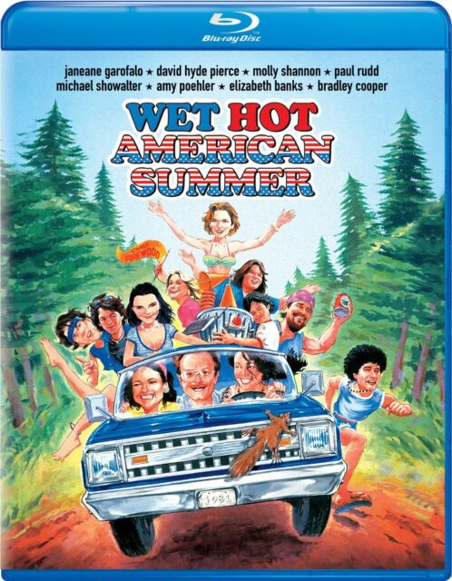 WET HOT AMERICAN SUMMER (2001)  -  Blu Ray - Sealed Region free