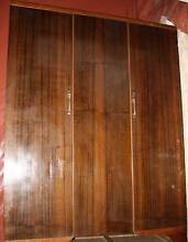 1930's Silky Oak Matching Wardrobe and Double Bed Collaroy Manly Area Preview