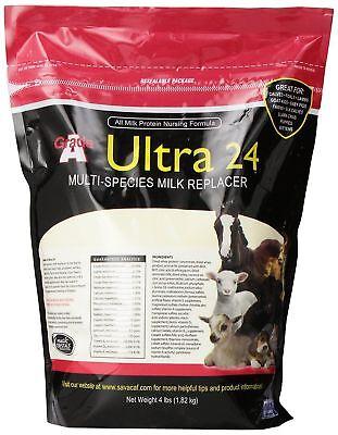 Grade A Ultra 24 Milk Replacer 4 Lb Multi Species Milk Replacer