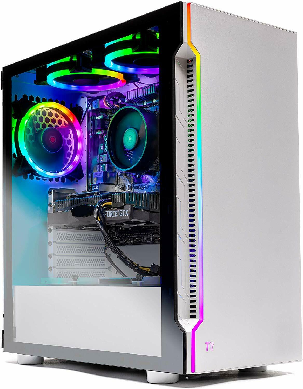 SkyTech Archangel Gaming Computer PC Ryzen 5 3600 3.6 GHz 8G