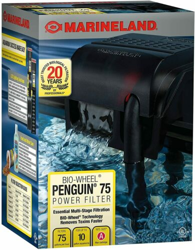 MarineLand Penguin 100 GPH BIO-Wheel Power Filter Up 10 Gallon Fish & Aquariums
