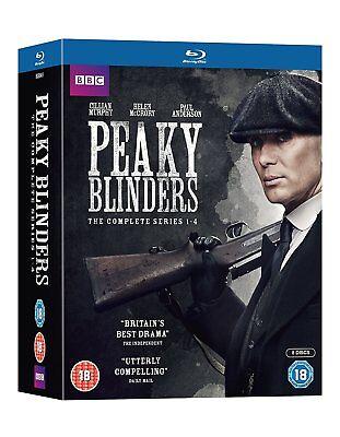 Peaky Blinders Complete Series 1-4 Blu-ray 1 2 3 4 NEW NO SHRINK WRAP.