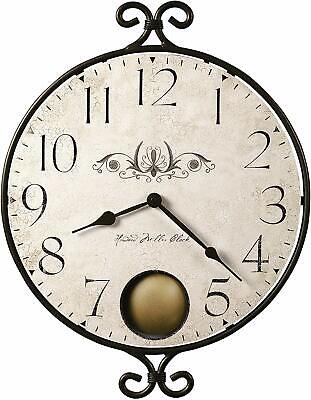 Howard Miller Randall Wall Clock 625-350 – Vintage & Round with Quartz Movement