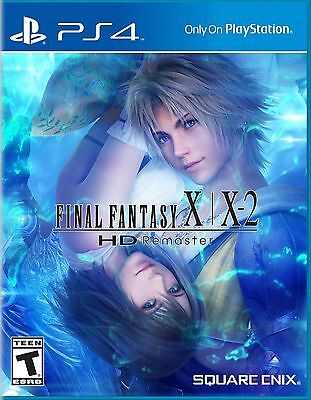 PLAYSTATION 4 Final Fantasy X/X-2 HD Remaster - PS4 - BRAND NEW - FREE SHIPPING for sale  Shipping to South Africa