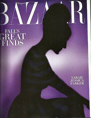 HARPER'S  BAZAAR MAGAZINE OCTOBER 2015 SARAH JESSICA PARKER FALL'S GREAT FINDS
