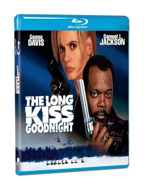 The LONG KISS GOODNIGHT (1995) HI-DEF BLU RAY SAMUEL L JACKSON GEENA DAVIS