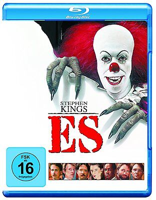 Es - von Stephen King (1990)[Blu-ray](NEU/OVP) mit Clown Pennywise