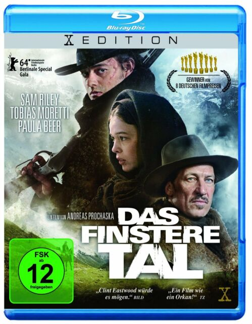 Das finstere Tal [Blu-ray] Gewinner von 8 deutschen Filmpreisen! * NEU & OVP *