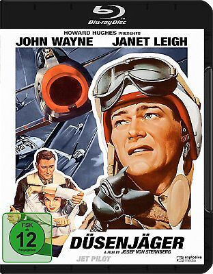 JET PILOT - Blu-ray - Region ALL ( A,B,C )  - John Wayne, Janet Leigh