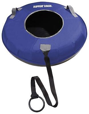 Slippery Racer Grande XL Commercial Inflatable Snow Tube Sled - BLUE