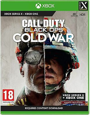 NEW CALL OF DUTY: BLACK OPS COLD WAR XBOX SERIES X &...