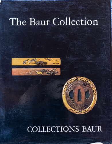 The Baur Collection-Japanese Sword Fittings-most important reference in English