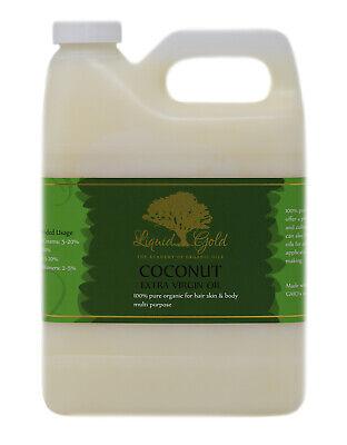 32 oz Premium Best Extra Virgin Unrefined RAW Coconut Oil 100% Pure