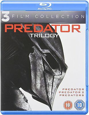 Predator Trilogy   Complete Movies 1 3  Blu Ray  Region Free   New Sealed