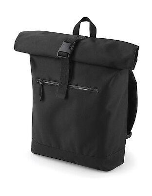 BagBase Roll-Top Rucksack Tasche Backpack Laptoptasche gepolstert Kurier