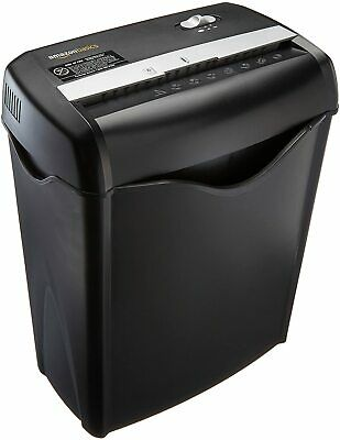 6 Sheet Cross-cut Paper Cd And Credit Card Home Office Shredder Pullout Basket