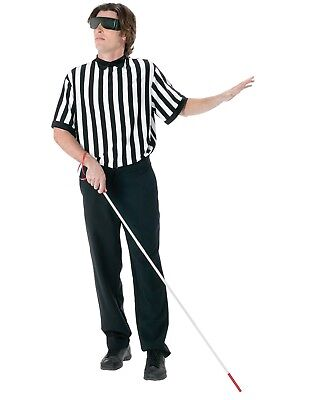 Men's Blind Referee Costume