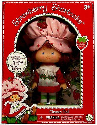Strawberry Shortcake 35th Birthday Classic Doll 2015 Girls 3+ 6in. Bridge Direct