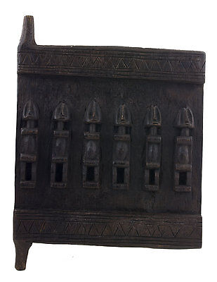 Door Dogon Grenier millet Mali 40x 29 cm - Flap box- Art african - 6397
