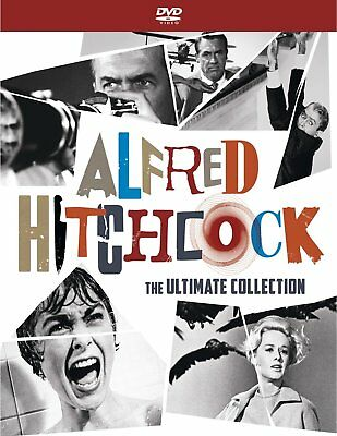 Alfred Hitchcock: The Ultimate Collection (DVD, 2017 17-Disc Box Set) New Sealed