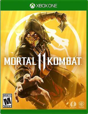 Mortal Kombat 11 - Xbox One  2019 Games Sealed Brand New