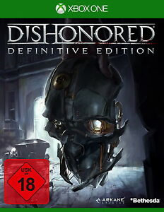 XBOX ONE Dishonored Definitive Edition NEW