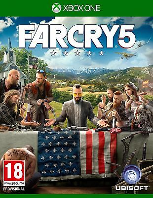Far Cry 5 (Xbox One) NEW & SEALED Fast Dispatch Free UK P&P