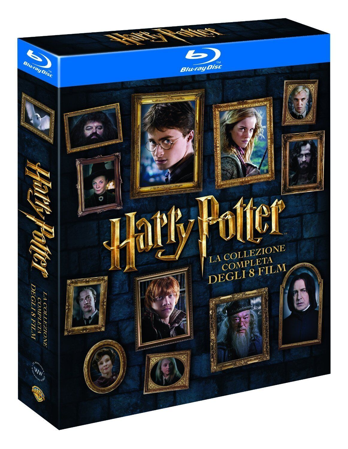 Harry Potter BOX Komplettbox 1-7.2 Teil 1+2+3+4+5+6+7.1+7.2 NEU OVP [Blu-ray]