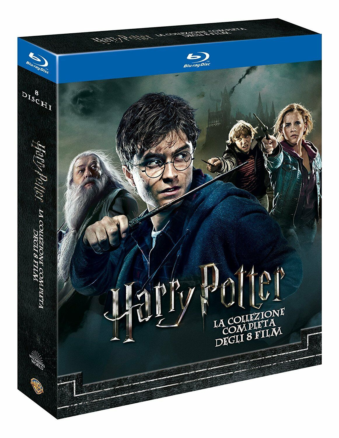 Harry Potter BOX Komplettbox 1-7.2 Teil 1+2+3+4+5+6+7.1+7.2 NEUWARE OVP Blu-ray