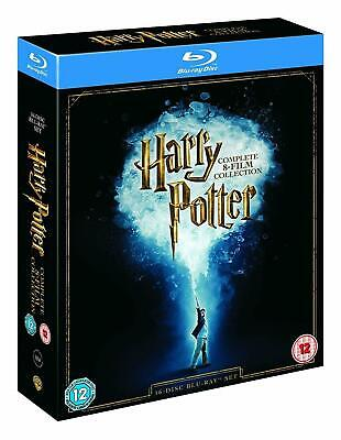 Harry Potter Blu-ray [Region Free] Complete 8-Film Collection - All 1-8