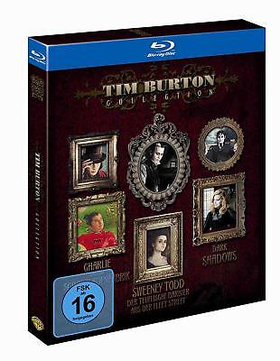 Tim Burton Kinder (Tim Burton Collection -  3 Filme in einer Box  Blu-ray/NEU/OVP)