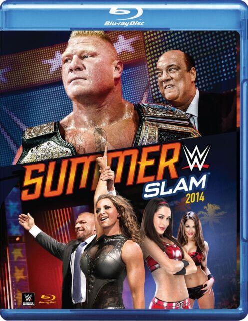 WWE - SummerSlam 2014 (Blu-ray, 2014) New  Region B
