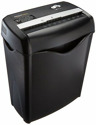 Cross Cut Paper Shredder Destroy Credit Card Heavy Duty Business Home Office