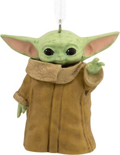 Hallmark The Child Star Wars Baby Yoda Mandalorian Christmas Ornament 2021 Gift